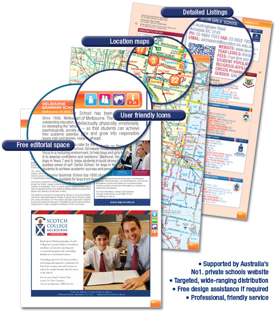 Schools Guide pages