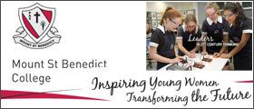 Mount St Benedict College - Pennant Hills NSW