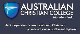 Australian Christian College - Marsden Park NSW